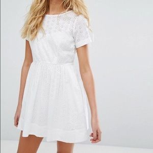 Jack Wills Edenfield Broderie Eyelet Dress